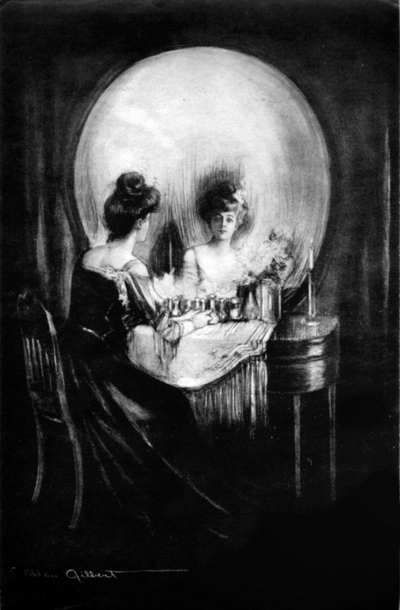 all is vanity, ilusión óptica de gilbert