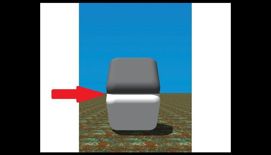 Colores que parecen diferentes - Ilusión Óptica